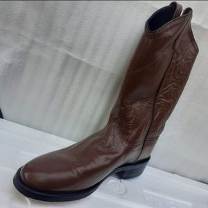 Cowgirl boots,genuine Buttery Leather Women 9.5us